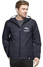 '47 Brand Men's Denver Broncos React Zip Hooded Jacket Jersey NFL Medium M