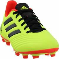 adidas Predator 18.4 Firm Ground   Mens Soccer Cleats     - Yellow