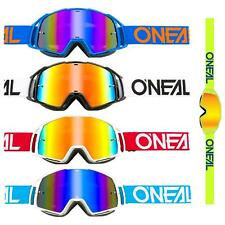 O'Neal B-20 MX Goggle Flat Radium Moto Cross Brille DH Downhill MX MTB Spiegel