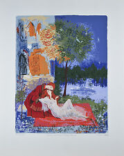 """Romeo & Juliet Sweet Farewell"" By Russel Barrer Lithograph On paper Limited Ed."