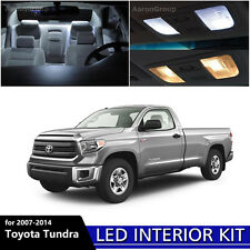 14PCS White Interior LED Light Package kit for 2007-2014 Toyota Tundra