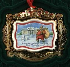 2011 White House Historical Christmas Ornament Theodore Roosevelt 50th