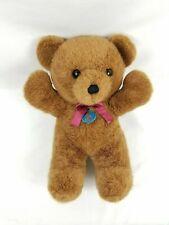"Dakin Cuddles Bear Plush Teddy Stuffed Animal 1979 Vintage 14"" Chocolate Brown"