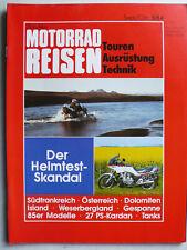 Nitschkes Motorrad Reisen, 5.1984 - Touren, Ausrüstung, Technik