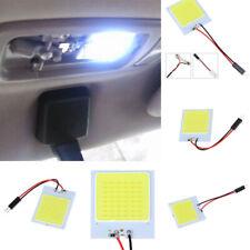 1X 48SMD COB White Panel LED T10 Car Interior Panel Light 12V 4W Dome Lamp Bulb,