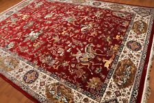"9'8"" x 13'3"" Super Fine 400 KPSI Hunting Traditional Thick pile Area rug Multi"