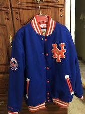 Men's Avirex  Coat Size XLarge NY Blue/ & Orange Button up