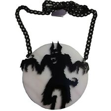 KREEPSVILLE 666 HOWLING AT THE MOON NECKLACE PUNK GOTH HALLOWEEN HORROR CHARM
