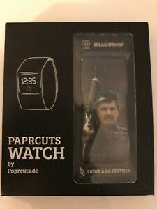 Charles Bronson Uhr * Paprcuts Watch * RAR * SELTEN * NEU & OVP * Preis gesenkt