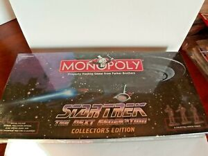 Monopoly Star Trek The Next Generation Collector's  Edition, NEW, UNOPENED