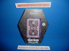 Disney Parks The Haunted Mansion Playing Card Set - Coffin Packaging - New!!