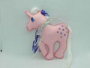 My Little Pony G1 Vintage Handmade Twilight Felt Mini Plush Figure
