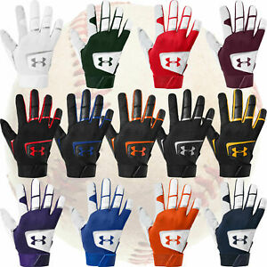 Under Armour Youth Boys Clean Up Baseball Softball Batting Gloves, FREE SHIPPING