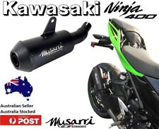 Musarri GP S/Series Slip-on Exhaust  - Kawasaki Ninja 400 / SE / KRT 2018 EX400G