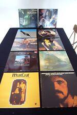 10 LP S  Blue Öyster Cult - Jim Capaldi - Meat Loaf - Saga - Stan Ridgway ....