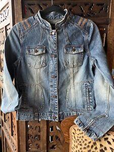 Lady Denim Vintage Jacket S .Pls Open Listing 4 Details.Korean Caspi  Conus Brnd