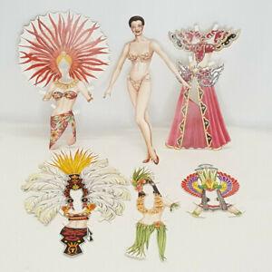 Judy M Johnsons Fabulous Follies Paper Doll w Costumes Follies