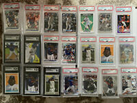 PSA SGC Baseball Mystery Pack 12+ Cards/2 Hits/Auto/Relic/Serial# + Graded Card!