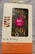 New Orla Kiely Binary Pouch Case for iPhone 4/4S 3G/3GS