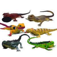 Squeaky Animal Toy Simulation Lizard PVC Kids Early Educational Sound Toy 37cm