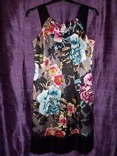 100% Silk *TED BAKER* Floral Occasion Dress Size 1 / UK 8 / EUR 34
