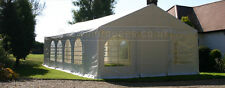 Heavy duty 6x12m Commercial DIY Marquee 500gsm PVC