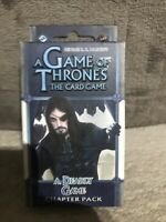A GAME OF THRONES THE CARD GAME - A Deadly Game Chapter Pack - NEW SEALED 2014