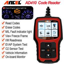 AD410 Code Reader OBDII Scanner O2 Sensor Test Check Engine Light I/M Readiness