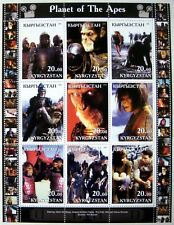 Planet Of The Apes Stamps Science Fiction Imitation Sci-Fi Sheet Wahlberg
