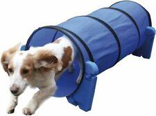 Small Dog Soft Rigid Foam & Fabric Easy Assemble Agility Tunnel Fun Exercise