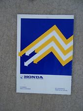 1984 Honda Eg650 Generator Owner Manual Operation Maintenance Lotsa Manuals! S