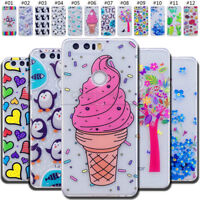 For Huawei Protective TPU Silicone Soft Cover Skin Rubber Shockproof Back Case