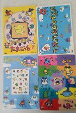 Super RARE! Vintage 1996-1997  Tamagotchi Pencil Board 3 & File 1 total set of 4