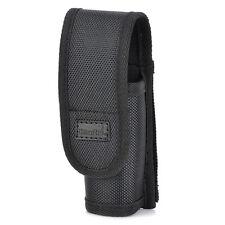 para LED Linterna Luz nailon Soporte Funda cinturón bolso protector útil 1X