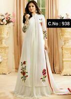 Indian Party Designer Anarkali Salwar Suit Dress Kameez Weding Long Gown Ethnic