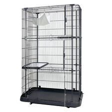 162cm 4 Level Cat Cage Deluxe Home kittens Enclosure Small Animal Crate House