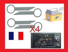 4 Cles clef extraction autoradio démontage audi RNS RNSE audi a3 AUDI GPS a4