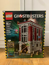 LEGO #75827 GHOSTBUSTERS FIREHOUSE HEADQUARTERS NEW FACTORY SEALED *RETIRED*
