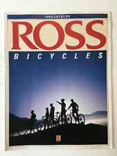 Vintage Original ROSS Bicycle Catalog 1985