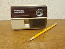 Vintage Panasonic KP-110 Auto Stop Electric Pencil Sharpener Suction Feet Japan