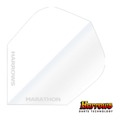 Harrows Marathon Anti Glare Flights - 100 micron - White