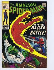 Amazing Spider-Man #77 Marvel 1969 In the Blaze of Battle !