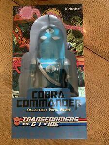 Kidrobot Cobra Commander G I Joe 7 inch Figure