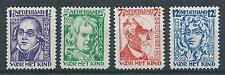1928 TG Nederland Kinderzegels NR.220-223  postfris, mooie serie!
