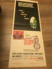 The Satan Bug Movie Insert Original Poster 1965 Horror Vintage 14 x 36