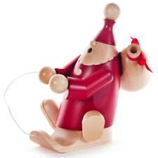 Red Santa Sled Sack German Smoker