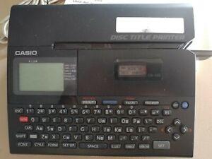 CASIO CD / DVD Disc Title Printer CW-K85