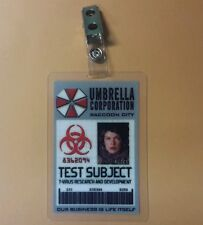 Resident Evil ID Badge-Umbrella Corp Test Subject Alice