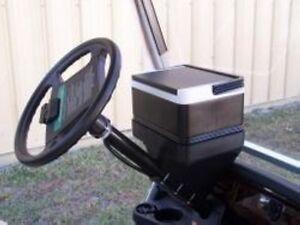 Golf Cart Universal Beverage COOLER Steering Column Mount 12-Pack Cooler