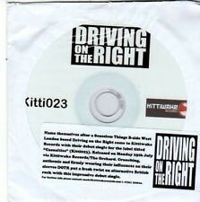 (BY269) Driving On The Right, Casualties - 2011 DJ CD